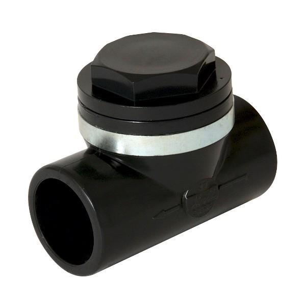 Clapet anti retour PVC diam 63 mm, Nicoll CARL