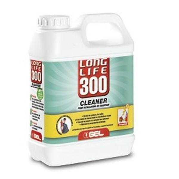 Nettoyant pour installation neuves GEL, Long Life 300, bidon de 1 litre