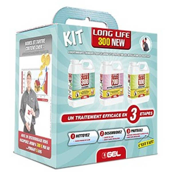 Kit traitement des installations de chauffage GEL Long Life 300