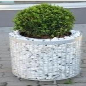 Gabion Cylindrique pour plantation - haut 40 cm - diam 40 cm