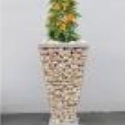 Gabion Trapèze pour plantation - 85,5x100x100 cm