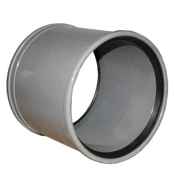 Manchon PVC assainissement à joint DN 110, l'unité