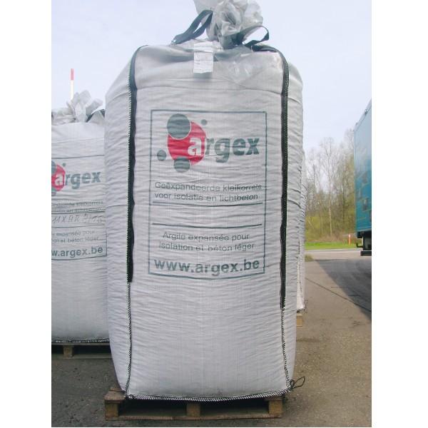 Billes d'argile expansée ARGEX 4/10 mm, Big bag de 1 M3