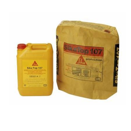 Protection et imperméabilisation bassin Kit SIKATOP-107 Gris 25kg