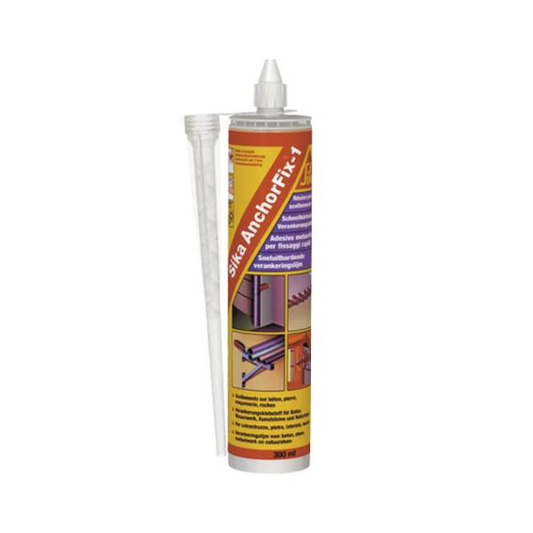 Scellement chimique SIKA Anchorfix 2, 12 cartouches 300 ml
