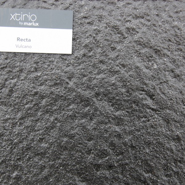 Dalle Marlux Antico Recta angles droits 40 x 40 x 3,8 cm couleur Vulcano, le M2