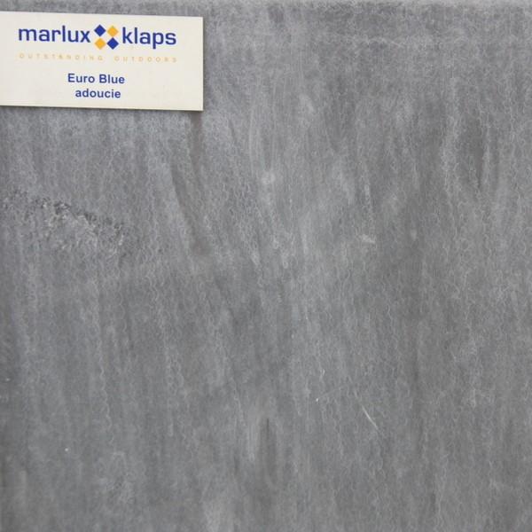 Dalle en pierre bleue 40 x 40 épaisseur 3 cm Euroblue aspect adouci, le M2