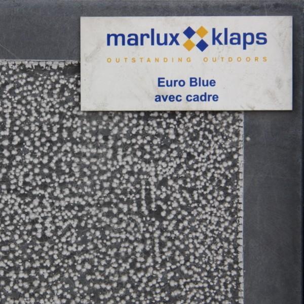 Dalle en pierre bleue 40 x 40 épaisseur 3 cm Euroblue aspect bouchardé avec cadre adouci, le M2