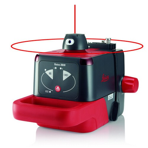 Pack Laser rotatif Roteo LEICA 20 HV