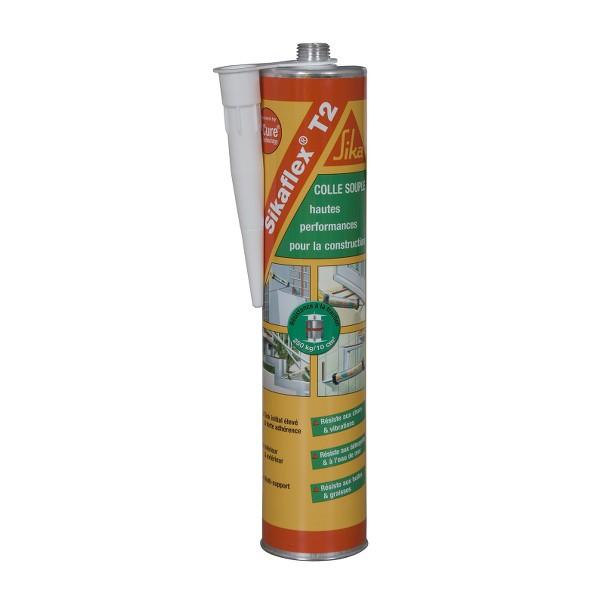 Mastic colle haute performance SIKAFLEX T2, cartouche de 300 ml