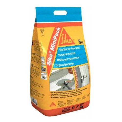 Mortier de réparation Sika minipack Concrete repair sac de 5kg