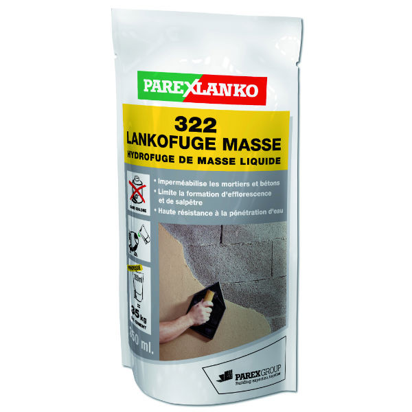 Hydrofuge de Masse 322 Lankofuge ParexLanko, 350 ml