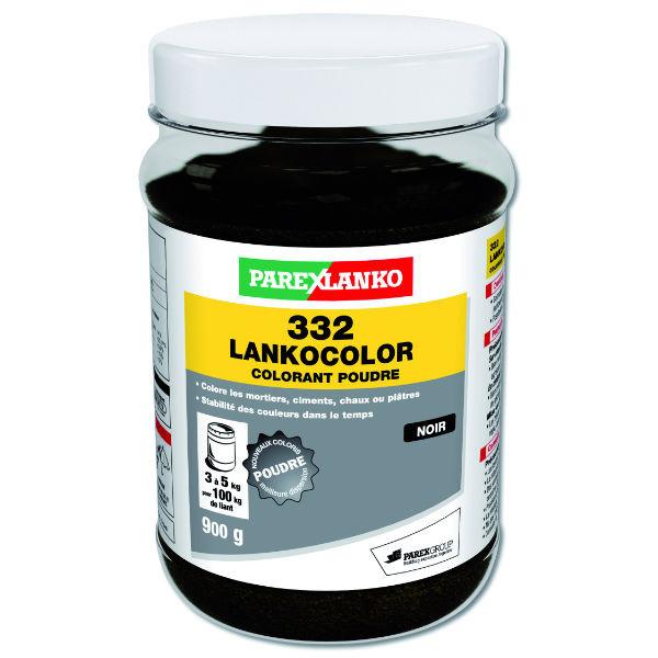 Colorant Noir 332 Lankocolor Mortiers Ciments ParexLanko, 900 g