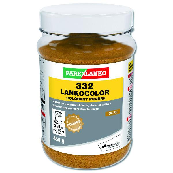Colorant Ocre 332 Lankocolor Mortiers Ciments ParexLanko, 450 g