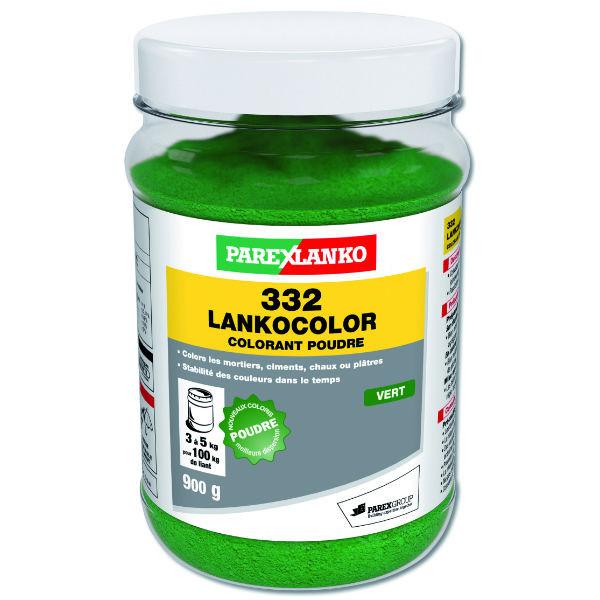 Colorant Vert 332 Lankocolor Mortiers Ciments ParexLanko, 900 g