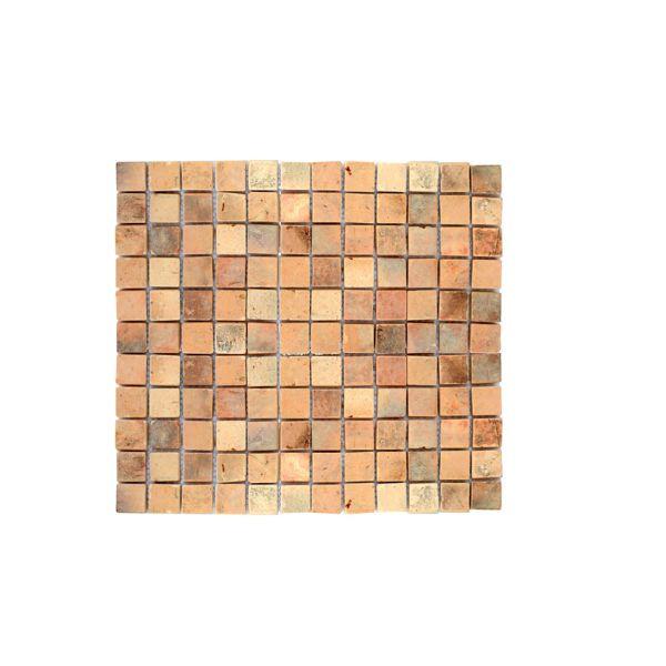 Plaque De Carreaux En Terre Cuite Terracotta 3685 30 5x30 5x1cm Materiauxnet Com