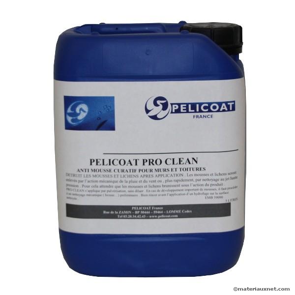 PRO CLEAN anti-mousse curatif Pelicoat, bidon de 5 litres