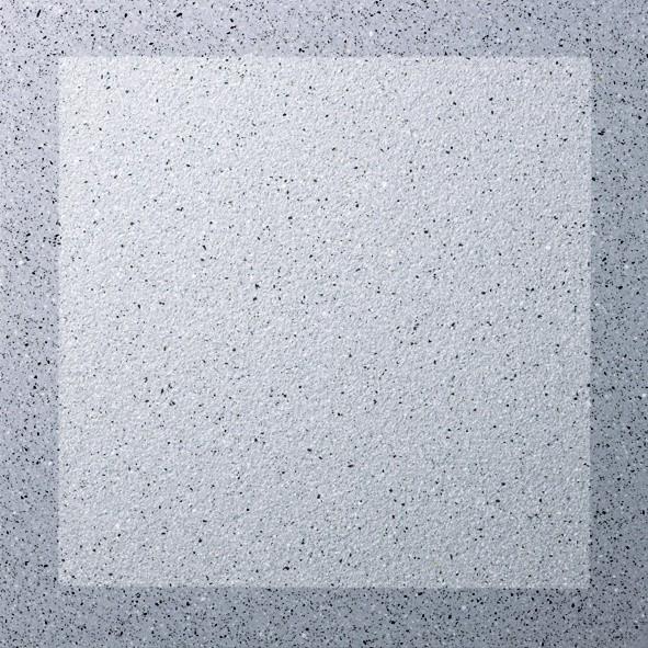 Dalle Marlux Lignardina 40 x 40 x 3,6 cm couleur Gris bleu cadre, le M2