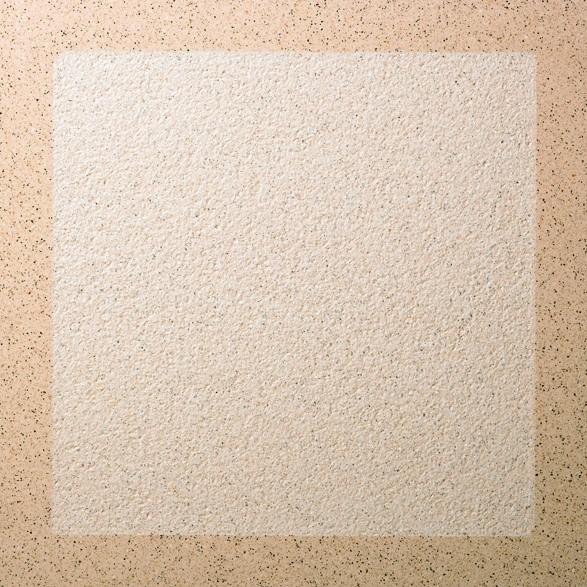 Dalle Marlux Lignardina 40 x 40 x 3,6 cm couleur Beige cadre, le M2