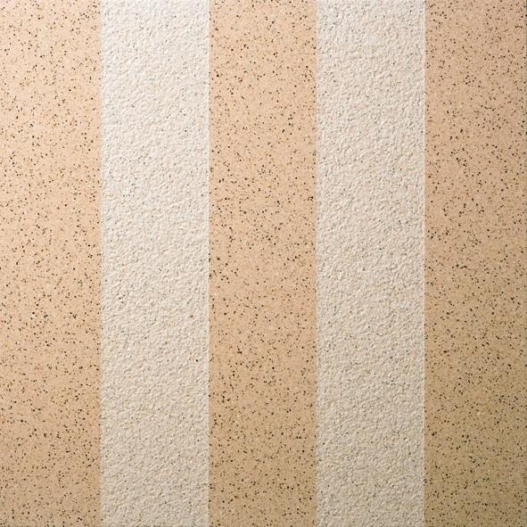 Dalle Marlux Lignardina 40 x 40 x 3,6 cm couleur Beige large bande, le M2