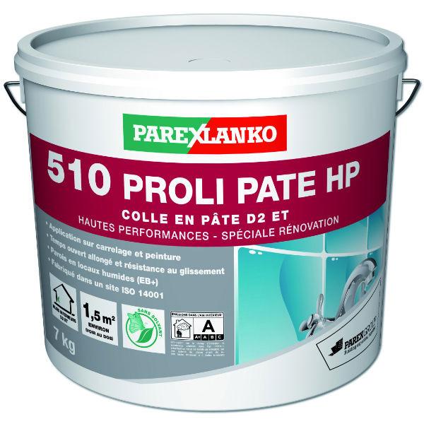 Colle 510 Proli Pâte Haute Performance Carrelage, ParexLanko, 7 kg