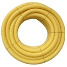 Drain agricole perforé nu en diamètre 200 mm, la couronne de 40 ml