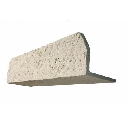Linteau Manoir ton Pierre 150 cm 22,5/25 cm ep 2 cm l'unité