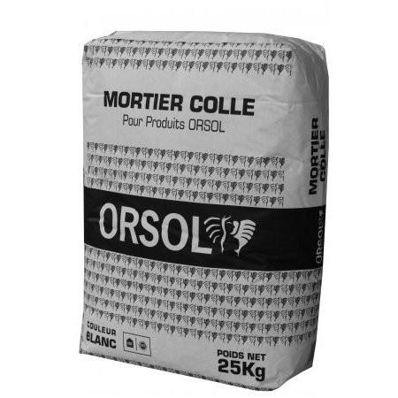 Mortier colle pour plaquettes et briques de parement C2S sac de 25 kg