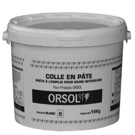 Colle pour plaquettes et briques de parement en seau de 15 Kg