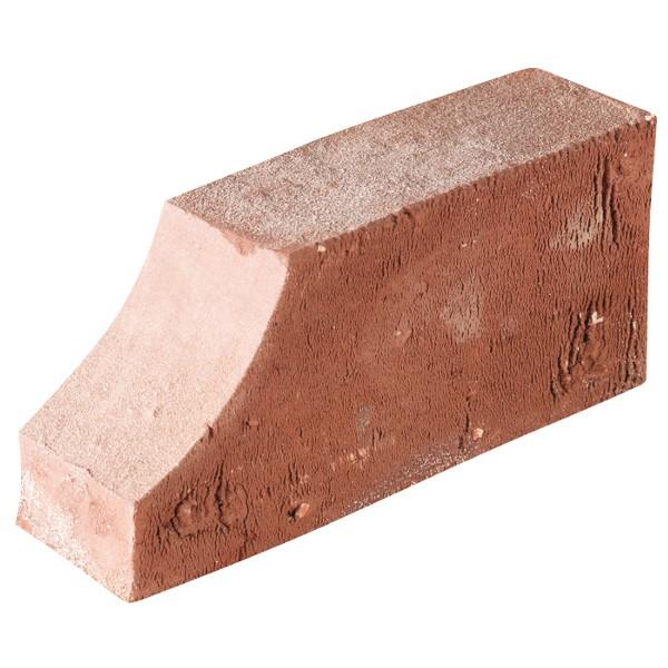 Brique de moulure rouge tradition 60x105x220 profil Cavet l'U