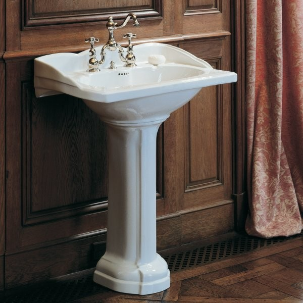 Vasque de Lavabo Herbeau EMPIRE 1 ou 3 trous à confirmer Blanc