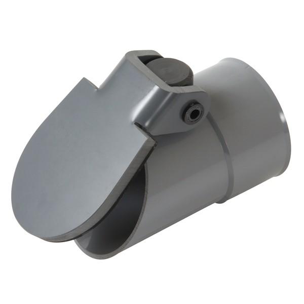 Clapet de nez pvc diam tre 100 mm nicoll pif100 - Clapet anti odeur pvc ...