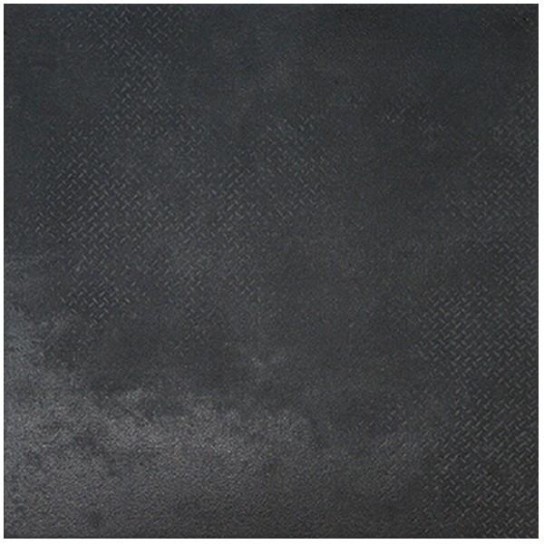 Carrelage Cerdomus metalskin nero satiné effet métal, 60x60cm, le m2