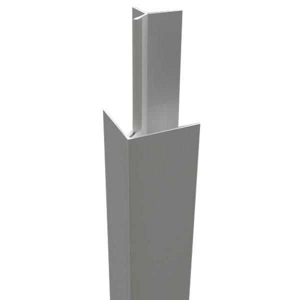 Angle extérieur bardage PVC, longueur 5m, Coloris au choix