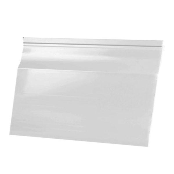 Bardage PVC Blanc aspect lisse 15cm longueur 5m, Barcel