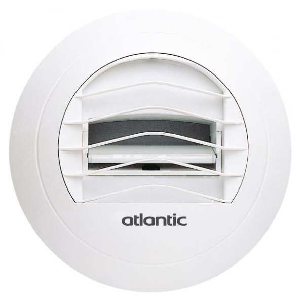 Bouche d'Extraction VMC Autoréglable 30 m3/h Atlantic BN 30 521001