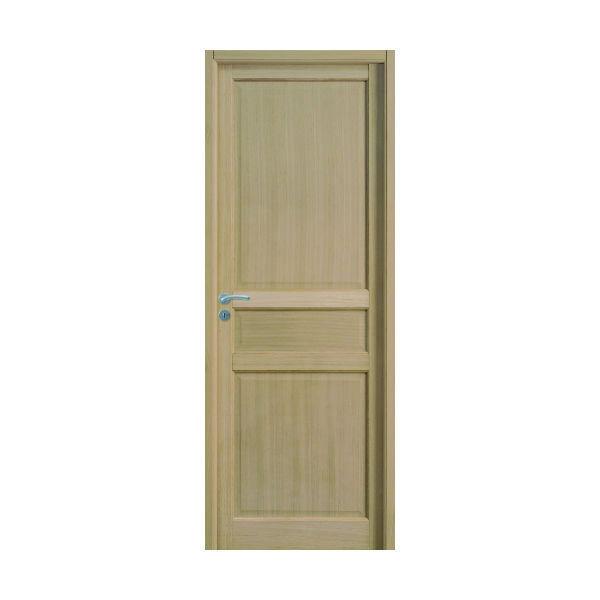 Bloc Porte Jade Plaqué chêne 204x83cm Huisserie 90mm Droit - GIMM