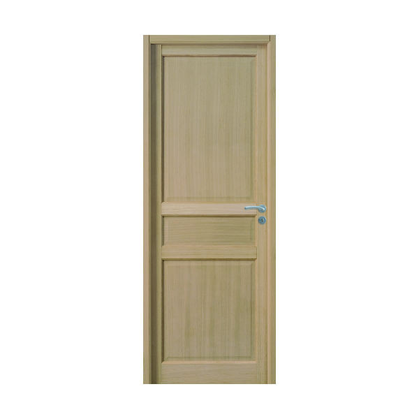 Bloc Porte Jade Plaqué chêne 204x73cm Huisserie 90mm Gauche - GIMM