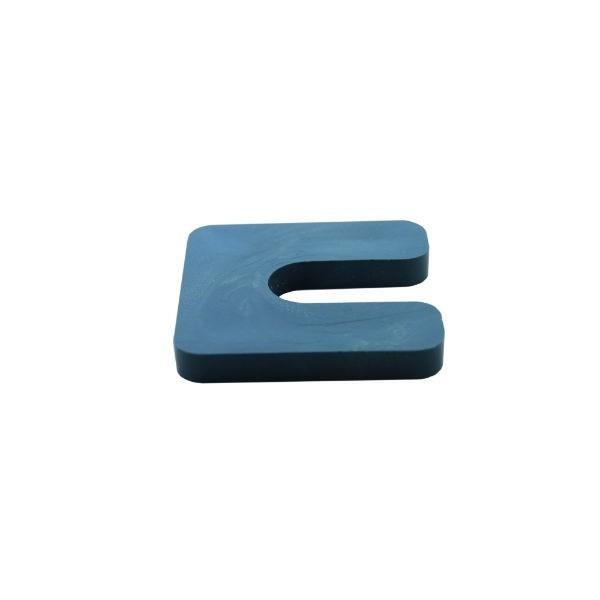 Cale de réglage épaisseur 2 mm PVC avec Encoche 70 x 70 mm, par 250