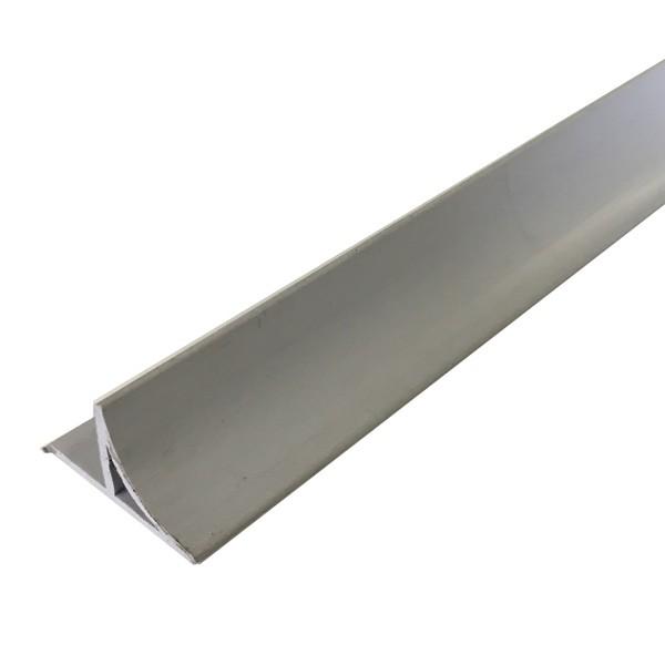 Liteau Arrondi PVC 1m 12x12x19 mm pour Chanfrein, par 50