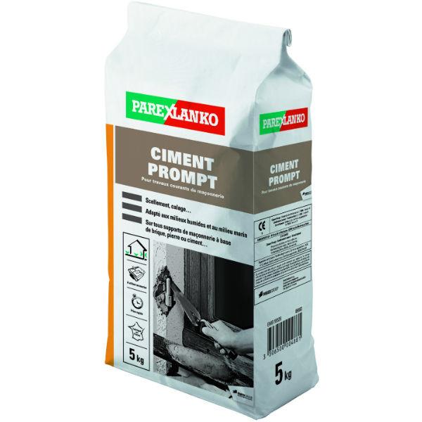 Ciment Prompt ParexLanko Prise Rapide, 5 kg