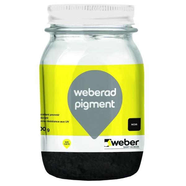 Colorant en Poudre Béton Weberad Pigment Noir 900g