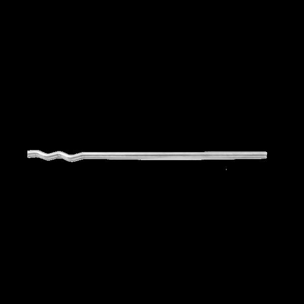 Crochet Maçonnerie Droit Grip Inox sans cheville 400 mm, par 500