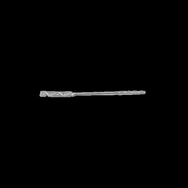 Crochet Maçonnerie Torsadé Plat 4 x 280 mm inox, par 500