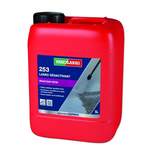 Désactivant de Surface 253 Lanko Désactivant ParexLanko, 5 litres