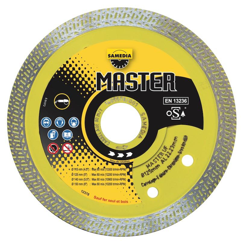 Disque Diamant Carrelage Master Uf Samedia ⌀ 115mm x 22,23mm