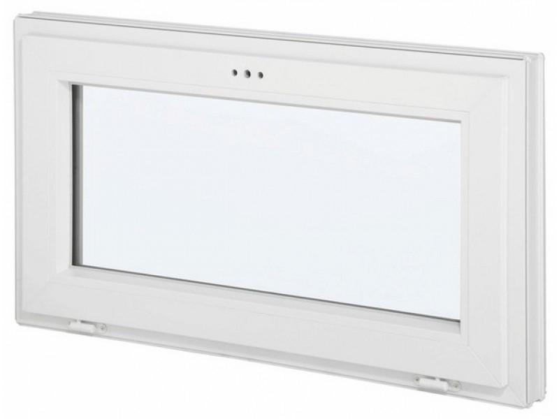 Fenêtre abattant en PVC, 45 cm x 100 cm