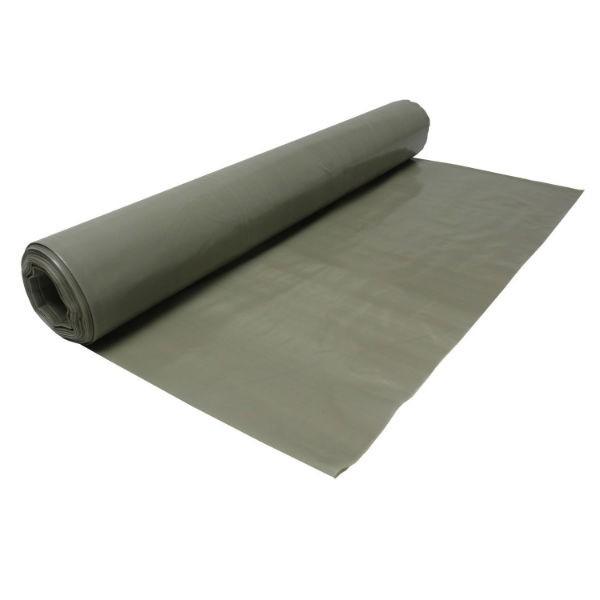 Film de protection PE 15/100 Largeur 6m Surface 165m2 Gris opaque