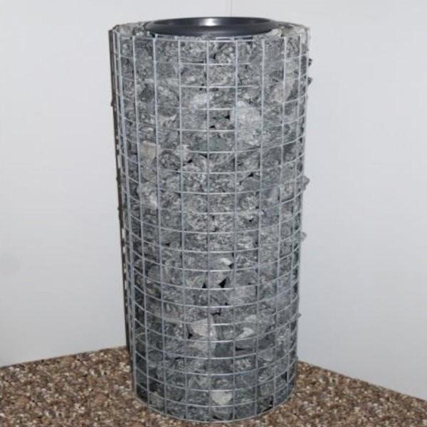 Gabion pour pot de fleurs cylindrique - 102cm
