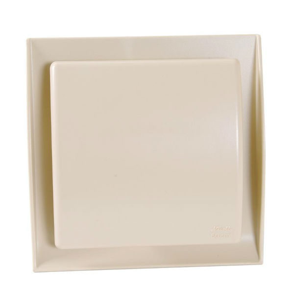 grille ventilation nicoll 100 mm neolia sable. Black Bedroom Furniture Sets. Home Design Ideas